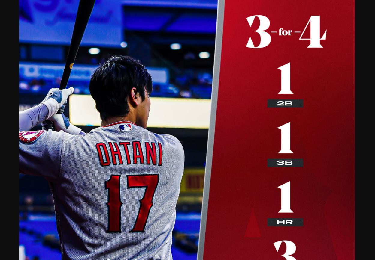 大谷翔平25号ホームランに盗塁、2塁打、3塁打と大暴れ、エンゼルス実況スレの翻訳(海外の反応)