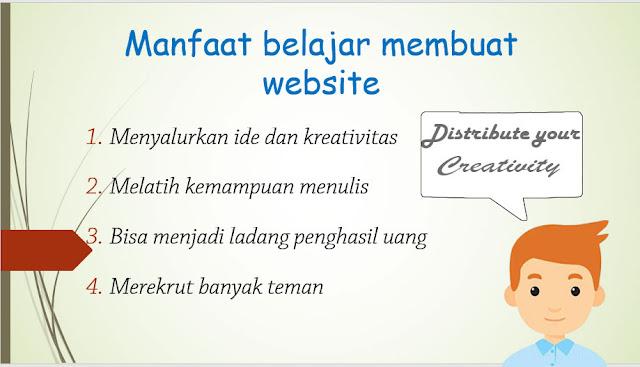 manfaat membuat website
