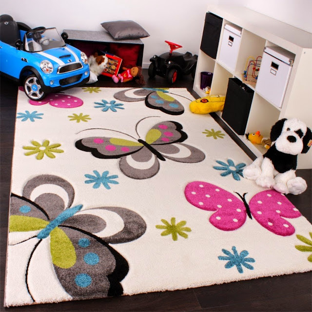 tapis chambre enfants pas cher pais color s et doux promotions 2018. Black Bedroom Furniture Sets. Home Design Ideas