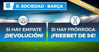 paston promo Real Sociedad vs Barcelona 13 enero 2021