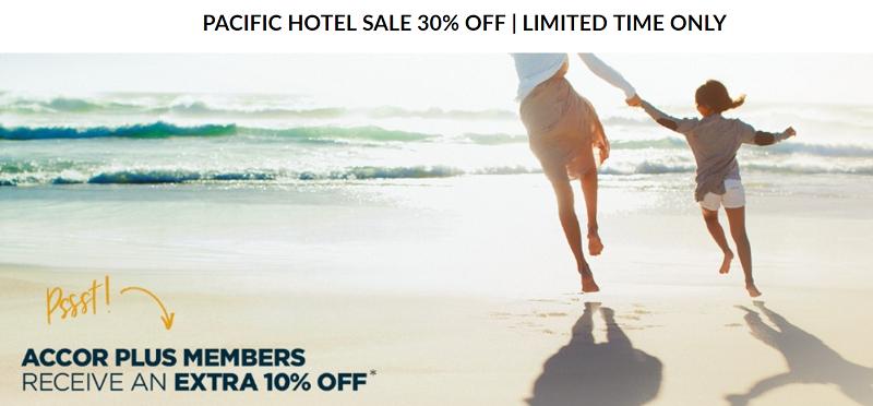 【限時促銷】現在預訂Accor雅高南太平洋地區酒店最高六折優惠!(8/23前預訂)