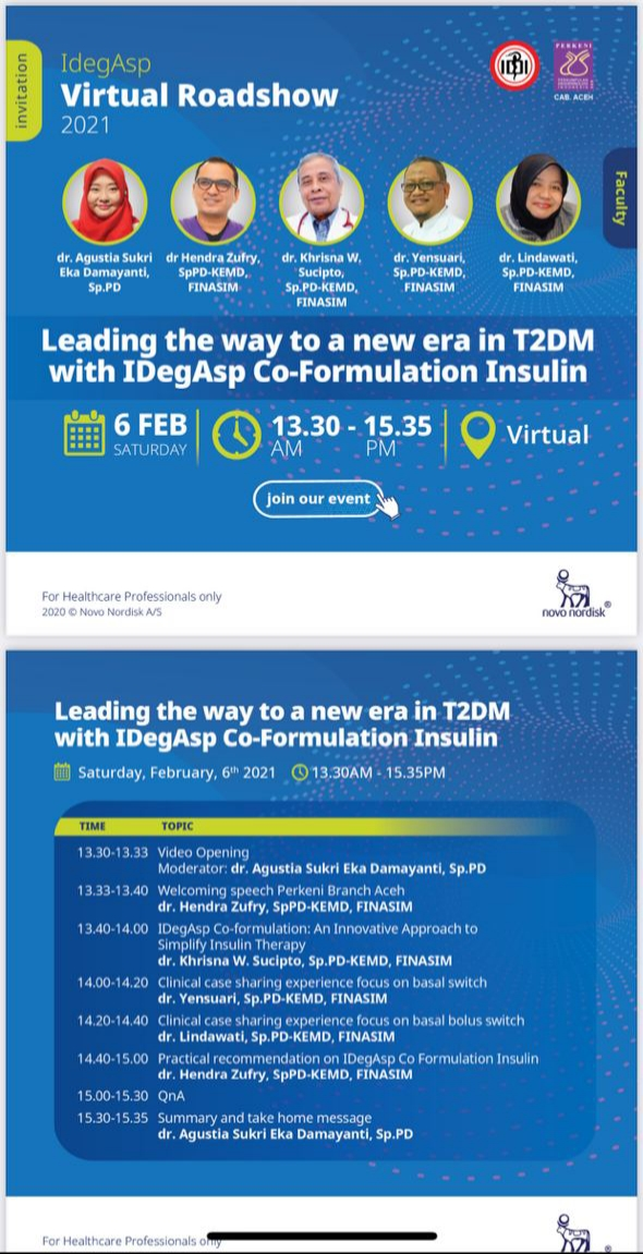 Free SKP IDI *Leading A Way To A New Era in T2DM with IdegAsp Co-formulation Insulin*
