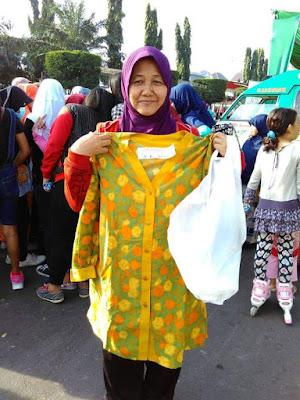 Tinggi, Antusiasme Warga Semarang Sambut Aksi Gerakan Menutup Aurat