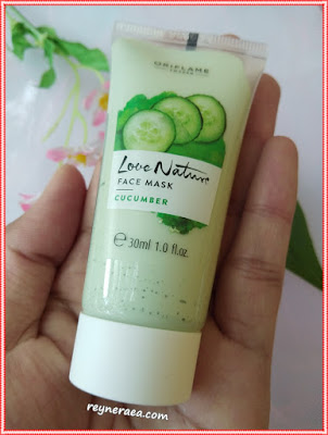 love nature face mask cucumber