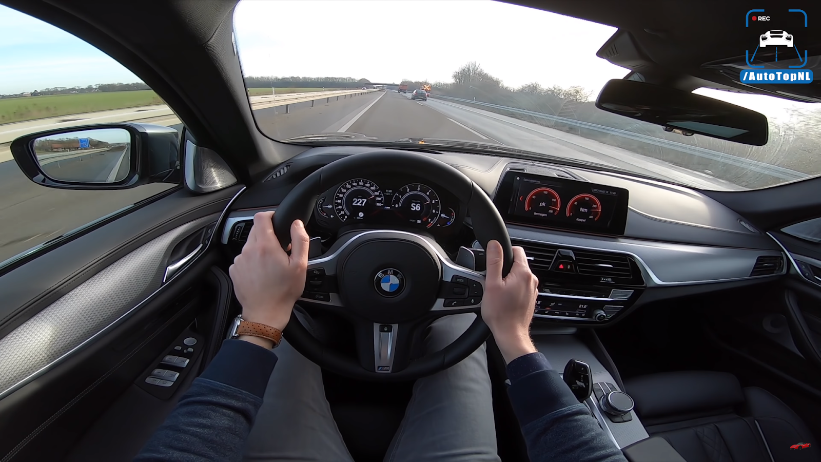 2019 BMW 5 Series G30 520i M SPORT Plus REVIEW POV Test