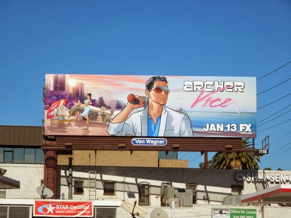 Archer Vice 5 billboard