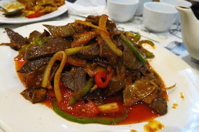 Melbourne, Dolan Uyghur Restaurant, offal