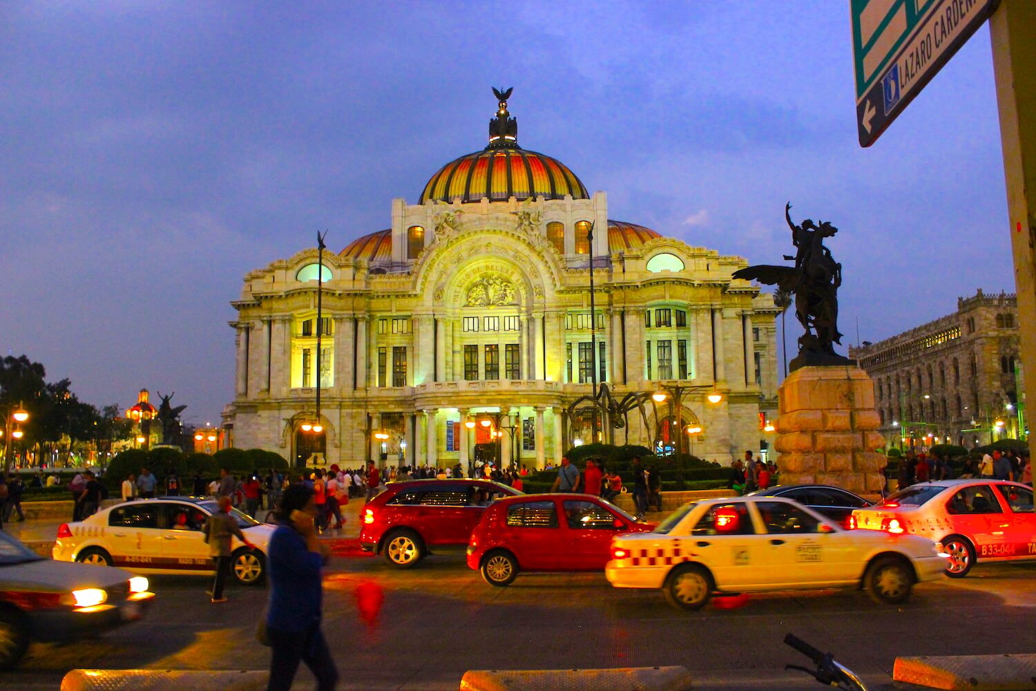 Palace of Beautiful Arts mexico city