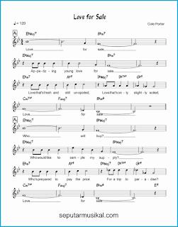chord love for sale 1 lagu jazz standar