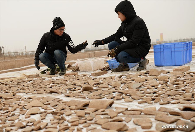 2,200-year-old government office building unearthed in Shaanxi Province
