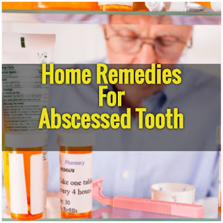 Home Remedy For An Abscessed Tooth By ADA Itself