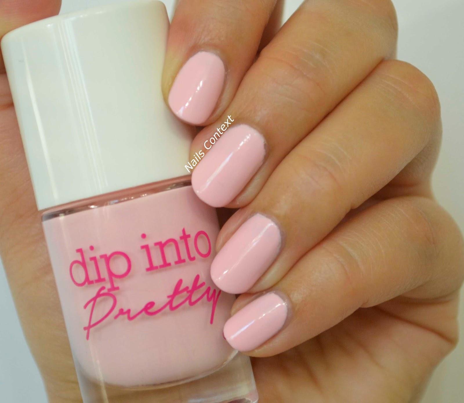 Nails Context: Dip Into Pretty