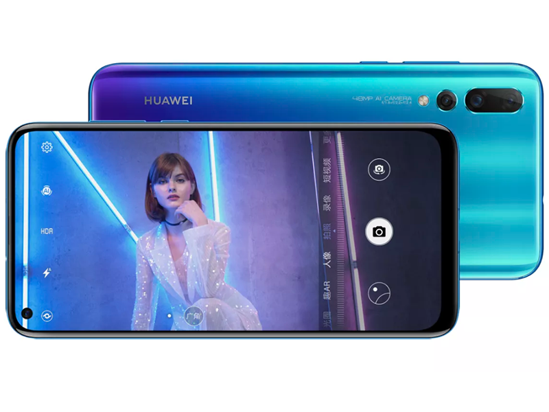 Huawei Nova 4 with a hole in the screen and 48MP camera is official