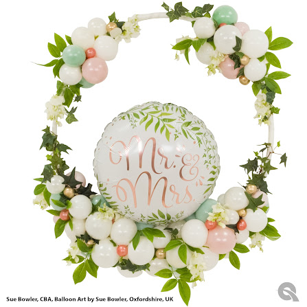 Country Garden Elegant Wedding Hoop by Sue Bowler, CBA
