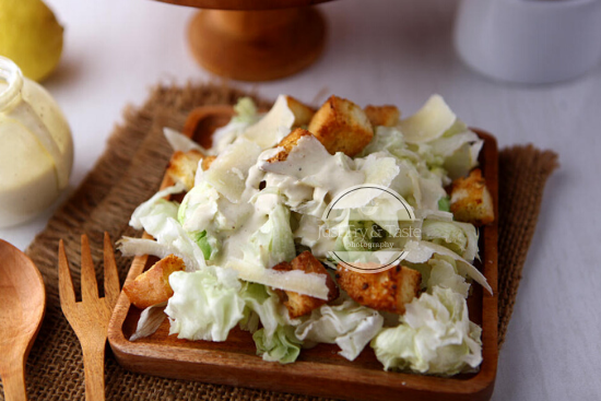 Resep Caesar Salad JTT