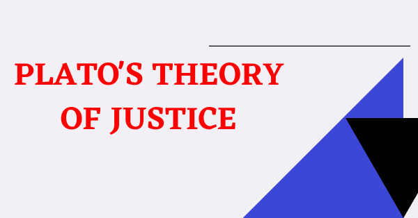 Plato's theory of justice notes
