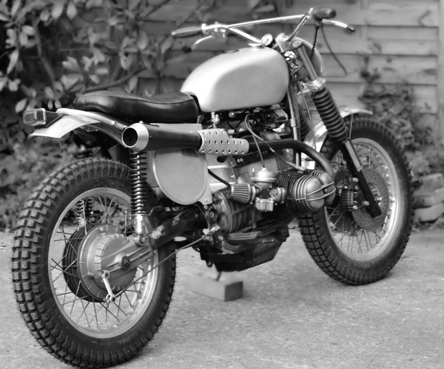 Populaire Dust Motorcycles BMW R80 Scrambler TRI-BEEMER - RocketGarage  KX16