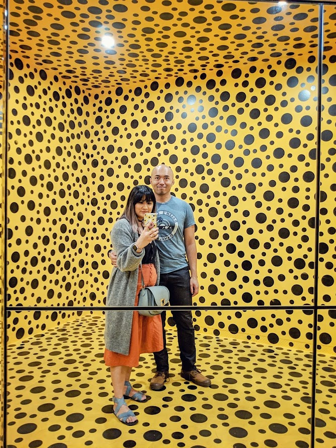 Yayoi Kusama Infinity Room National Gallery of Australia