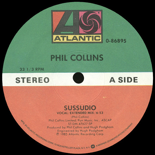 PHIL COLLINS - SUSSUDIO (VOCAL EXTENDED MIX)