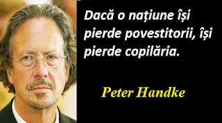 Maxima zilei: 6 decembrie - Peter Handke