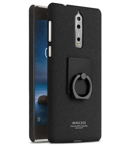 Hardcase + Ring Holder Imak - Nokia 8