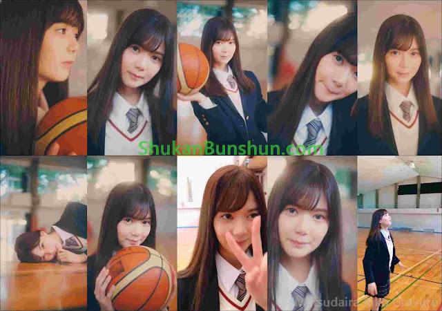 Matsudaira Riko basketball keyakizaka46 gravure magazine