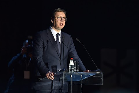Szerb elnök: a szerb nép fennmaradásának egyetlen feltétele az emlékezés