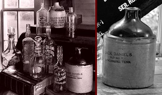 Jack Daniel's jug 1890 - 1895
