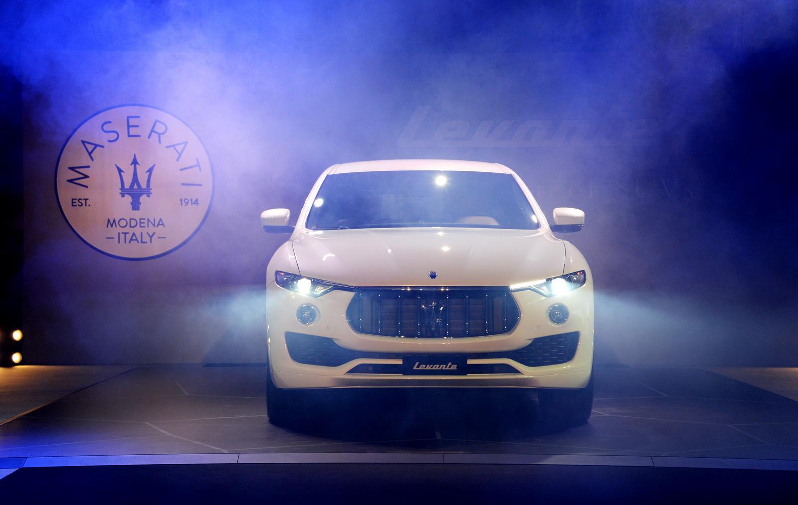 Maserati Levante bán tại Việt Nam có thể quanh mức 5 tỷ đồng
