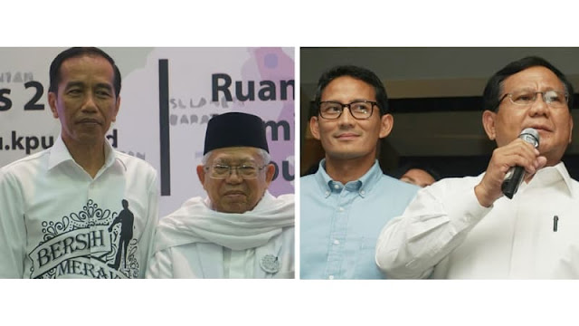 LSI Denny JA: Suara PA 212 75% ke Prabowo-Sandi, 16,7% Jokowi-Ma'ruf