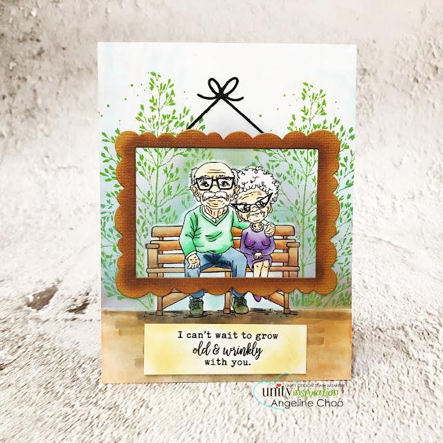 ScrappyScrappy: Happy 2020 & Angela's Birthday Bash with Unity Stamp - They built a life #scrappyscrappy #unitystampco #cardmaking #card #stamping #youtube #quicktipvideo #birthdaybash #happy2020 #tierrajackson #oldcouple #oldcouplestamp #averyelle #framedie #averyelleframe #distressoxideink #timholtz #smakkit #unitysmak #unitystampsmak #copicmarkers #growingoldtogether #oldandwrinkly