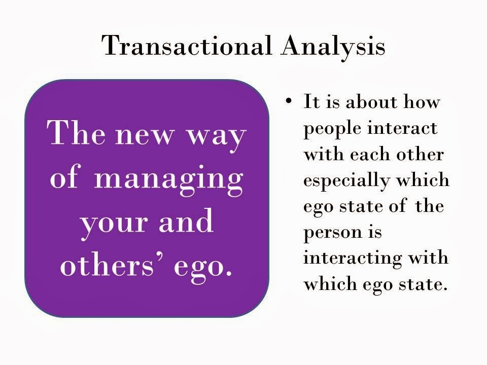 "underlying philosophy of transactional analysis essay Esssay relational vs transactional psychological contracts 1 lse id number 201235650 summer school 2013 midsession examination mg190 human resource management and employment relations assessed essay question ""compare and contrast the relational and transactional types of psychological contracts."