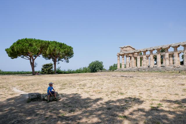 Panorama di Paestum