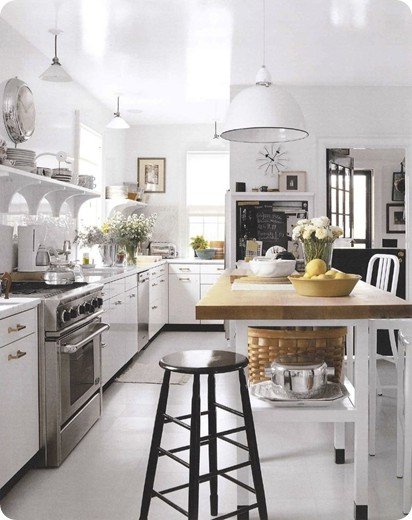 maison decor a reader 39 s kitchen dilemma. Black Bedroom Furniture Sets. Home Design Ideas