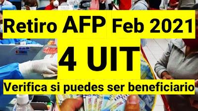 Verifica si estas comprendido en el nuevo Proyecto de Ley de retiro de 4 UITs de la AFP