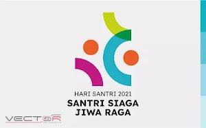 HSN (Hari Santri Nasional) 2021 Kemenag RI Logo (.SVG)