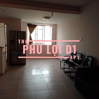 căn hộ 2 phòng ngủ chung cư Phú Lợi D1 đường Nguyễn Văn Linh