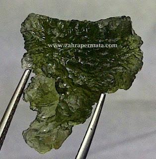 Batu Permata Moldavite - ZP 294