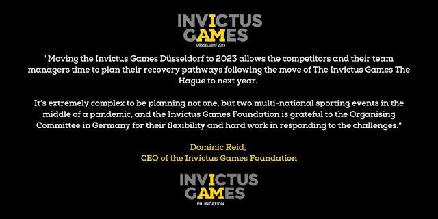Prince Harry's Invictus Games Dusseldorf eased back to 2023 - www.kindthoughtsformeghanmarkle.com