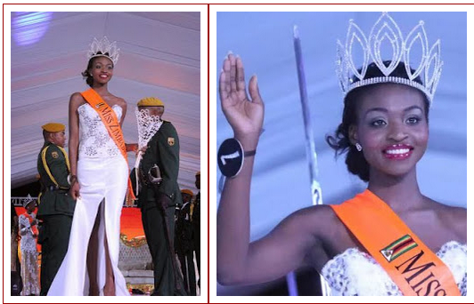 Miss Zimbabwe winner is stripped of title over nude photos