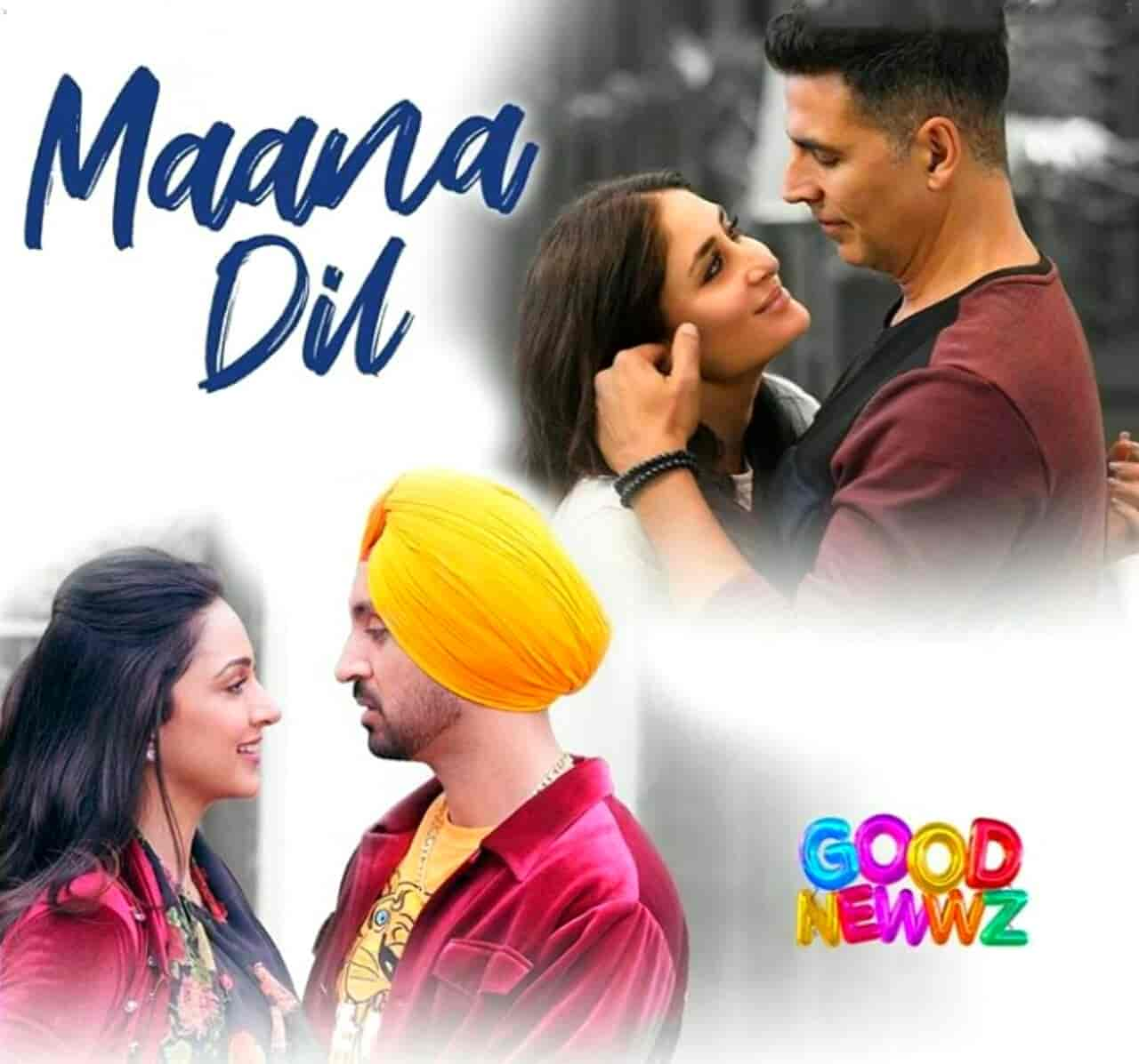 Maana Dil Song Images From Movie Good Newwz
