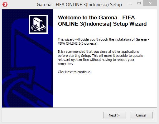 Cara Install FIFA Online 3 Garena Indonesia Terbaru 23