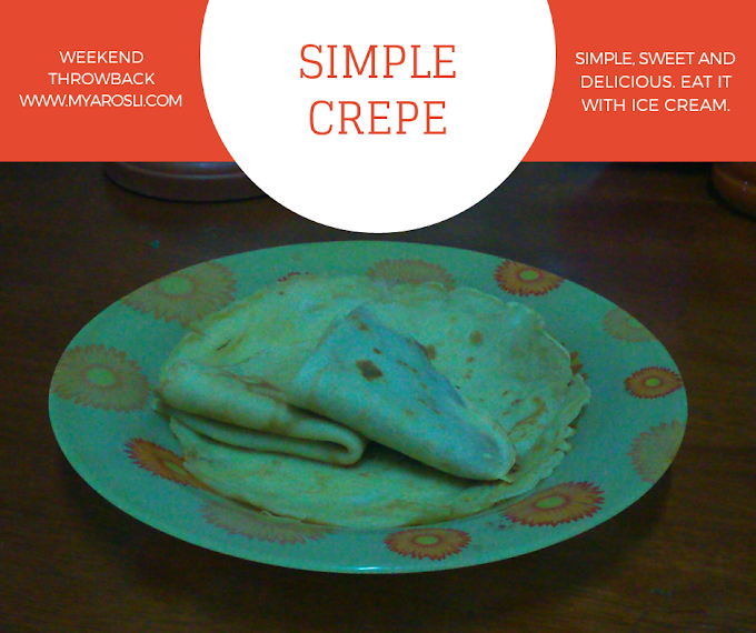 Simple Crepe