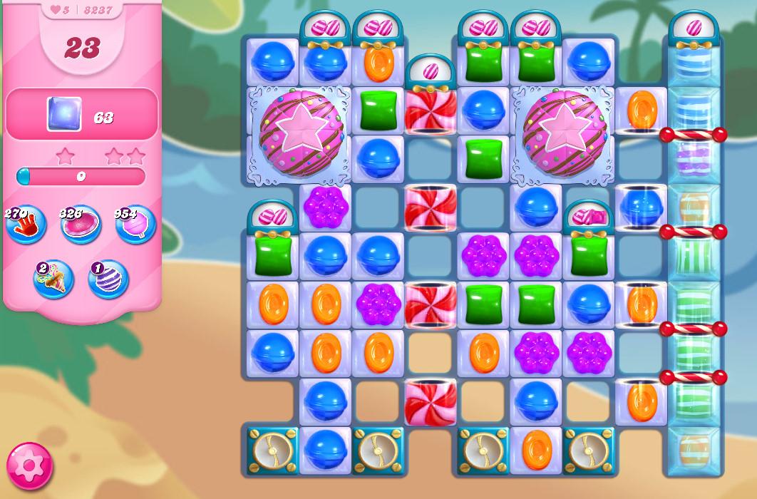 Candy Crush Saga level 8237