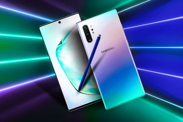 The difference between Galaxy Note 10 and Galaxy Note 10 Plus