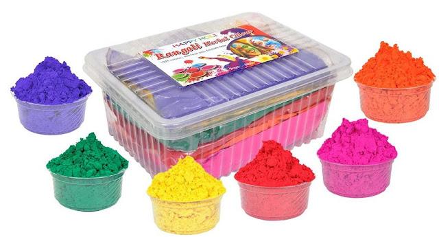 Altek Natural Gulal Holi Colors (1 Kg) -6 Pack per Box