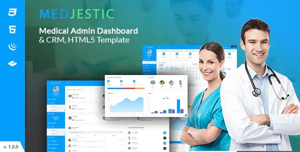 Best Medical Dashboard Admin Template