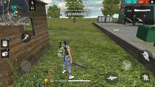 Zombie trong Free Fire do máy điều khiển và có nhiều độ khó khác nhau