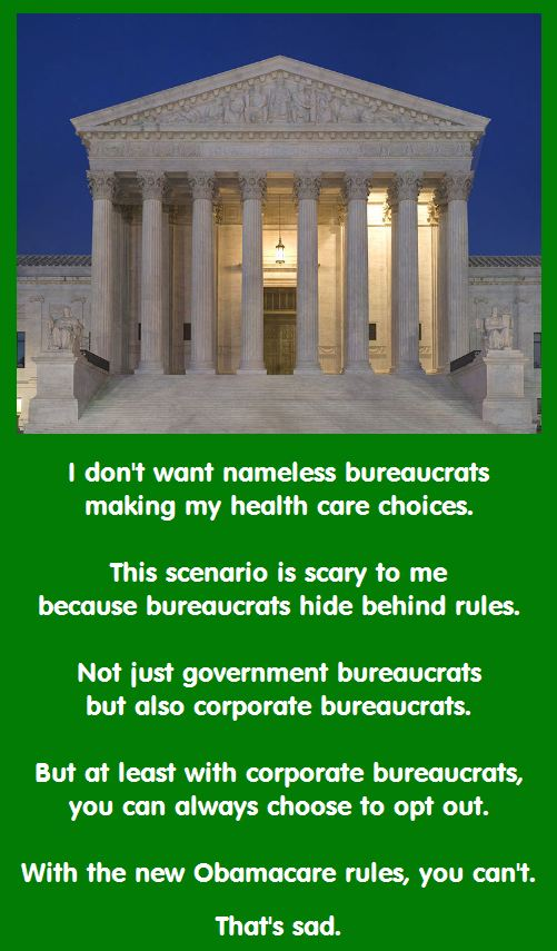 Bureaucrats are bad