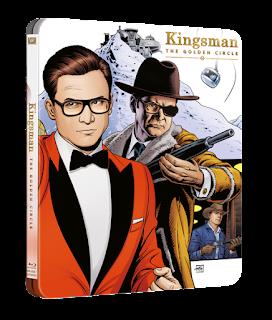 Kingsmen: The Golden Circle 4K/Blu-Ray,Digital HD